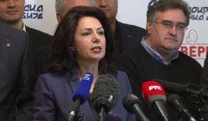 Ostavka Sande Rašković Ivić na mesto predsednice DSS-a