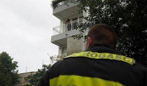 Izvršitelji odustali od iseljenja čoveka koji se polio benzinom
