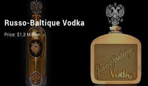 Vraćena ukradena flaša votke vredna 1,3 miliona dolara