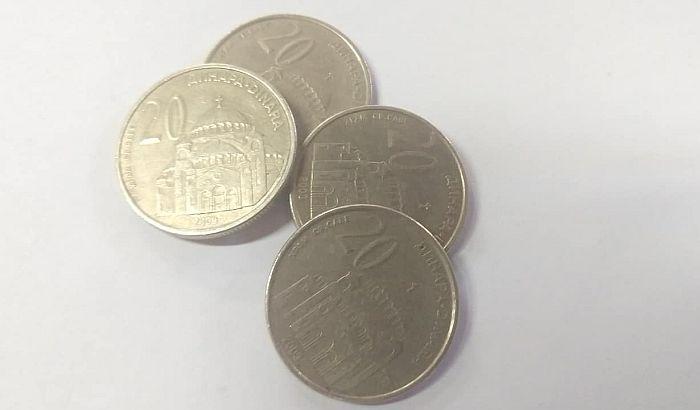Uštedeo 600.000 dinara u kovanicama, skoro niko neće da ih primi
