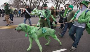 Svet obojen u zeleno, milioni ljudi slave Svetog Patrika