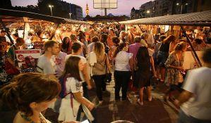 Novosadski noćni bazar 20. oktobra na Ribljoj pijaci