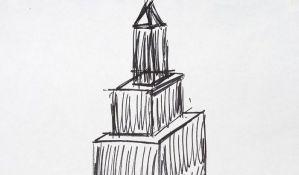 Trampov crtež njujorškog nebodera na aukciji