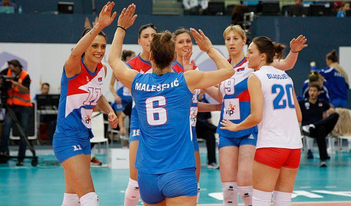 Odbojkašice Srbije u polufinalu EP
