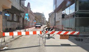 FOTO: Počeli radovi u Miletićevoj ulici