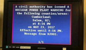 Upozorenje o nuklearnoj katastrofi emitovano greškom
