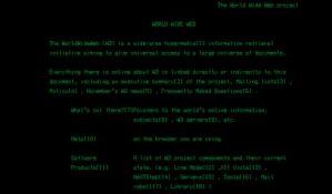 Ovako je izgledao prvi sajt na svetu