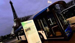 Autobus bez vozača počeo da saobraća