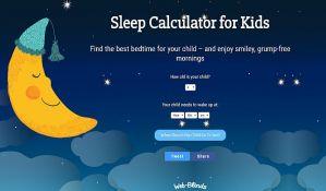 Izračunajte koliko sati sna je potrebno vašem detetu