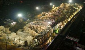 VIDEO: Kinezi za deset sekundi srušili 19 nebodera