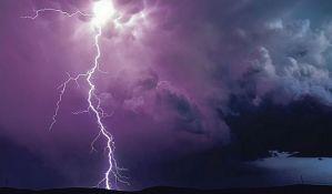 U Evropi olujno nevreme, 50.000 munja