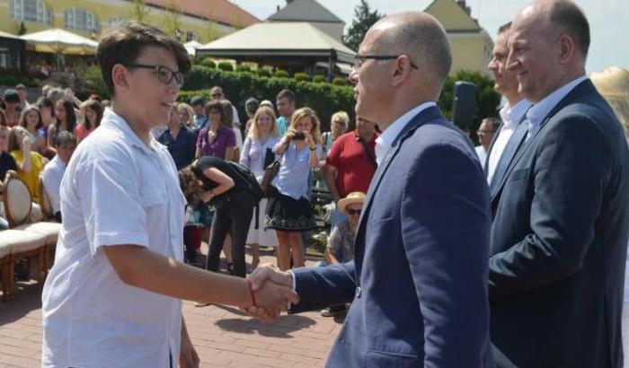 FOTO: Vidovdanske nagrade za najuspešnije novosadske učenike