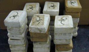 Kolumbija zaplenila 2,7 tona kokaina