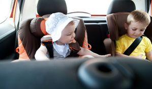 Besplatan pregled dečijih auto-sedišta danas preko puta Master centra