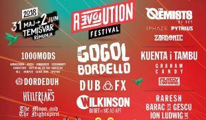 Gogol Bordello, Dub Fx, Wilkinson i mnogi drugi na R:evol:ution festivalu u Temišvaru