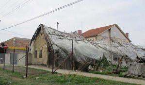 Zrenjanin: Urušava se Sandićeva kuća