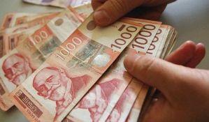 Sutra 123,26 dinara za evro