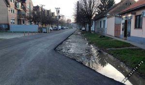 Sombor: Radovi izostali u trećini ulice