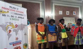 Mladi iz Francuske Gvajane impresionirani Bečejom