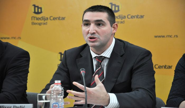 Oliver Dulić zaposlen u Kliničkom centru Vojvodine