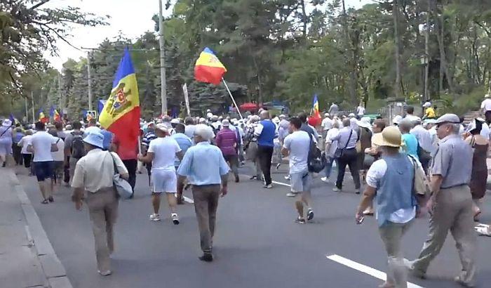 Protesti u Moldaviji zbog promene izbornog zakona