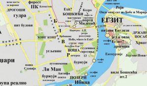 FOTO: Alternativna karta Novog Sada izazvala reakcije