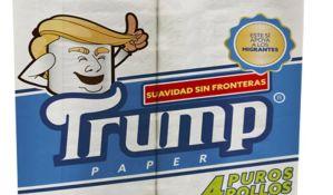 Meksikanac lansira toalet papir sa likom Trampa
