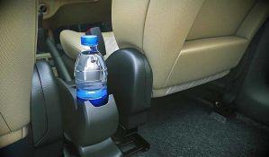 Nemojte piti vodu iz flaše koja je stajala u kolima