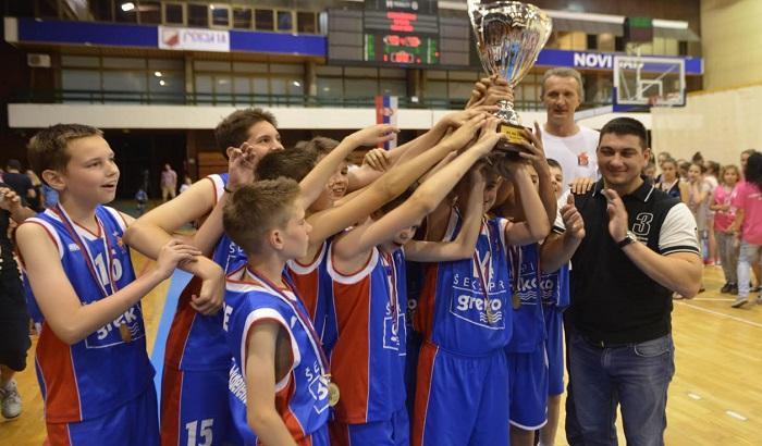 FOTO: Nagrađeni najbolji novosadski mladi košarkaši