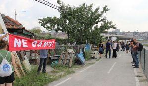 Protest u Savamali, sprečeno prinudno iseljenje