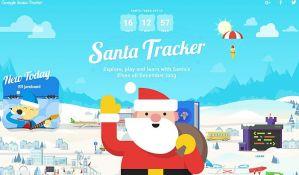 Aplikacije preko kojih možete pratiti putovanje Deda Mraza