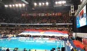 EP: Oboren rekord po broju gledalaca na vaterpolo utakmici