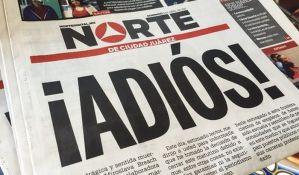 Meksički list prekida sa radom zbog bezbednosti novinara