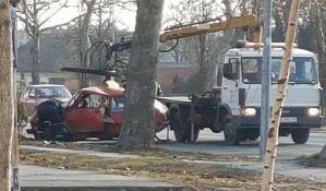 FOTO: Petoro povređeno u udesima u centru, na Futoškom i Kaćkom putu
