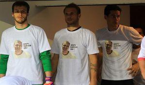 Partizan kažnjen zbog majica sa likom ubijenog Aleksandra Stankovića