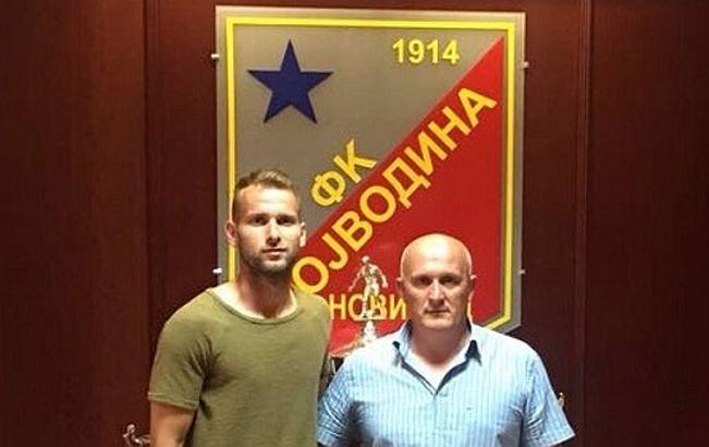 Stefan Cebara potpisao za Vojvodinu