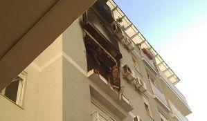 Preminuo muškarac povređen u požaru u centru Novog Sada