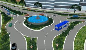 VIDEO: Ovako će izgledati kružni tok sa fontanom na Limanu
