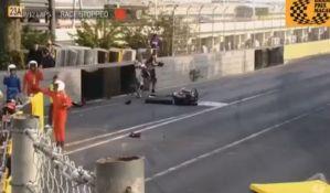 VIDEO: Poginuo motociklista, prekinuta trka