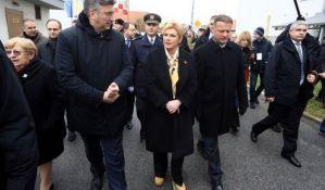 Grabar Kitarović: Još će vode proteći Dunavom dok Hrvatska i Srbija postanu prijateljske