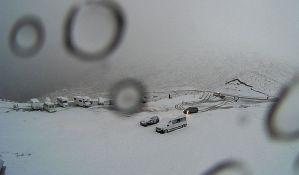 Sneg usred leta na Novom Zelandu
