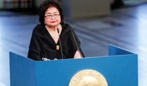 Secuko Tarlou primila Nobela za mir i pozvala na zabranu nuklearnog oružja