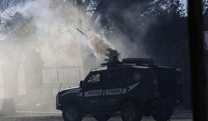 Vojska suzavcem razbila barikade u Vitlejemu