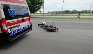 Trojica motociklista povređena u udesima na Detelinari, Podbari i Limanu