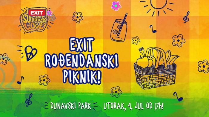Egzit piknik 4. jula u Dunavskom parku