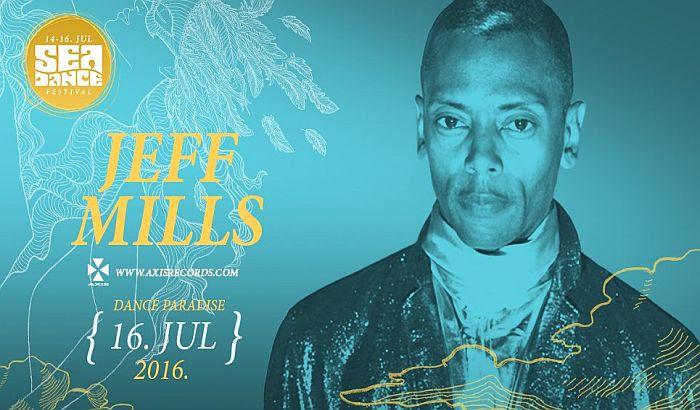 Jeff Mills i Black Coffee na Sea dance festivalu