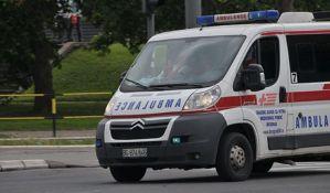 Beba poginula u sudaru sanitetskog vozila i kamiona