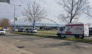 Muškarac skočio s Varadinskog mosta, spasila ga policija