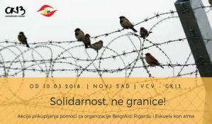Novosađani prikupljaju pomoć za izbeglice na hrvatskoj i mađarskoj granici