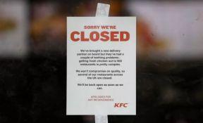 FOTO: Policija apelovala na građane da je ne zovu zbog nestašice piletine u KFC-ju
